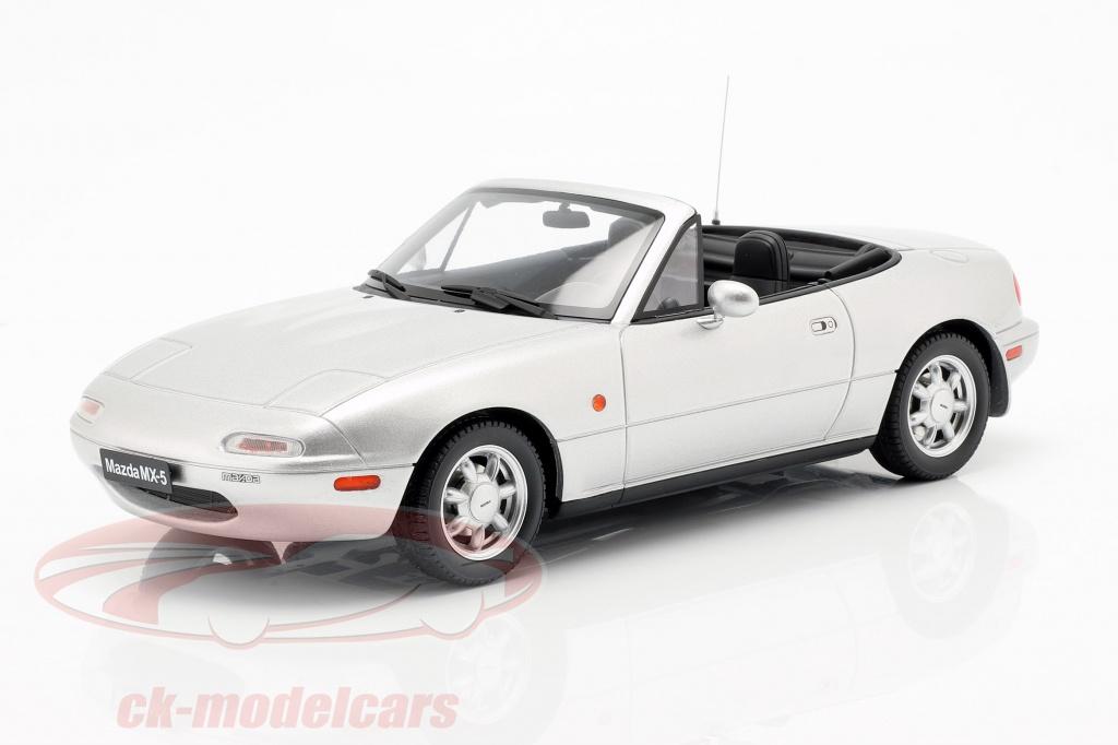 ottomobile-1-18-mazda-mx-5-bouwjaar-1990-silverstone-zilver-ot321/