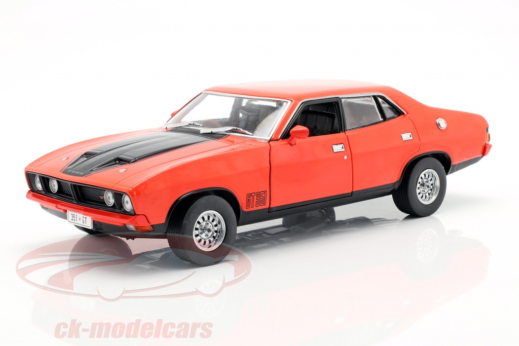 greenlight-1-18-ford-falcon-xb-gt351-annee-de-construction-1974-rouge-noir-18014-dda014/