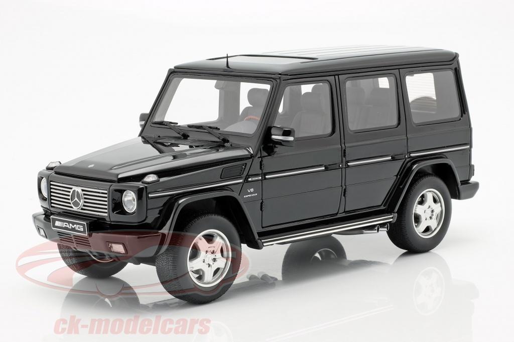 ottomobile-1-18-mercedes-benz-classe-g-55-amg-anno-di-costruzione-2003-obsidian-nero-ot320/