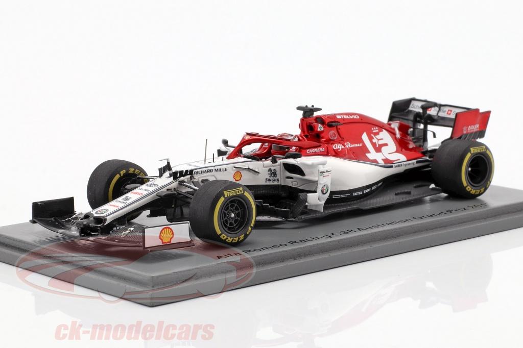 spark-1-43-kimi-raeikkoenen-alfa-romeo-racing-c38-no7-australske-gp-f1-2019-s6073/