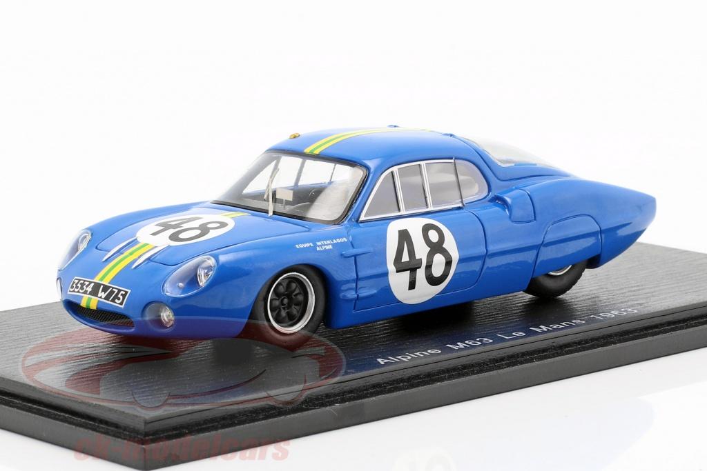 spark-1-43-alpine-m63-no48-24h-lemans-1963-rosinski-heins-s5482/