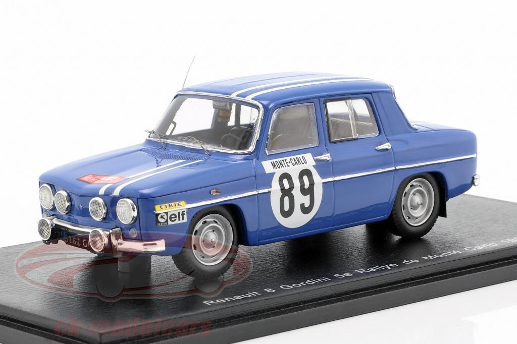 spark-1-43-renault-8-gordini-no89-5th-rallye-monte-carlo-1969-therier-callewaert-s5562/