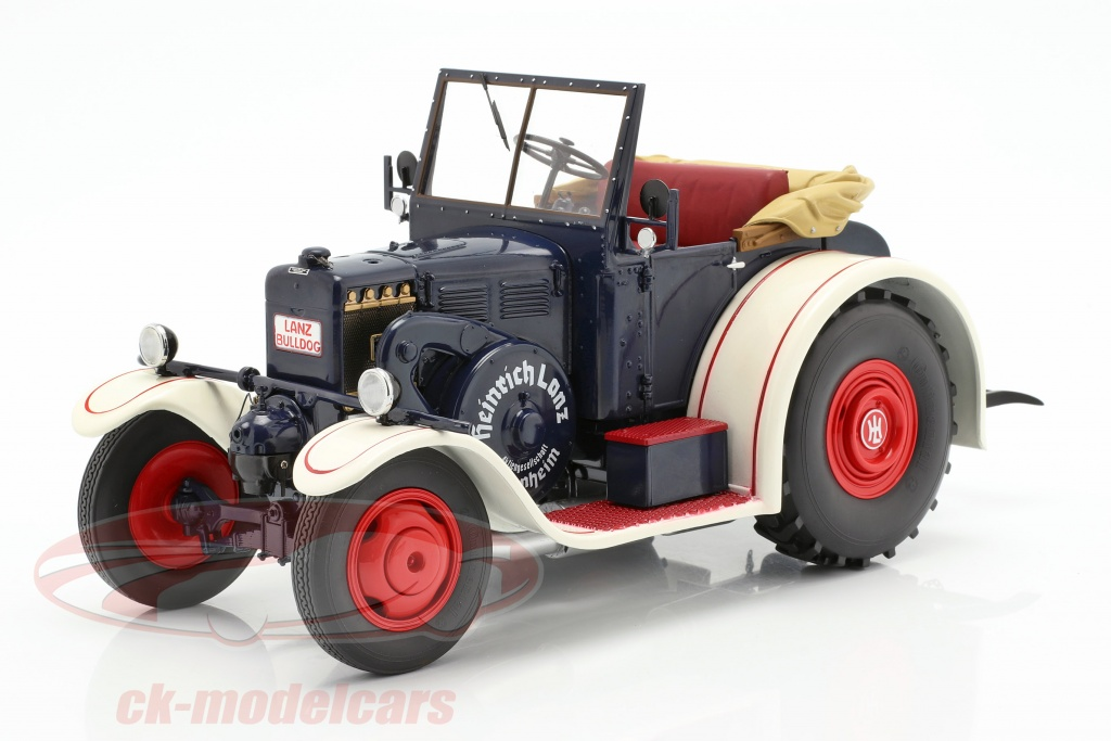 schuco-1-18-lanz-eilbulldog-traktor-bl-hvid-450016800/
