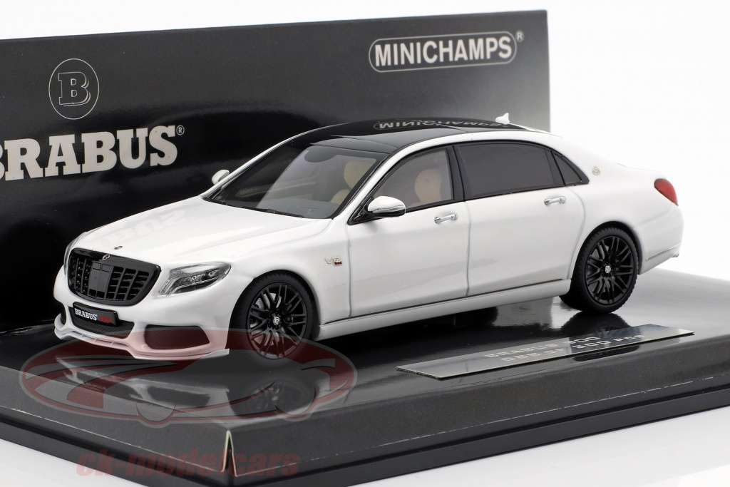 minichamps-1-43-maybach-brabus-900-baserede-p-mercedes-benz-maybach-s600-2016-hvid-437035421/