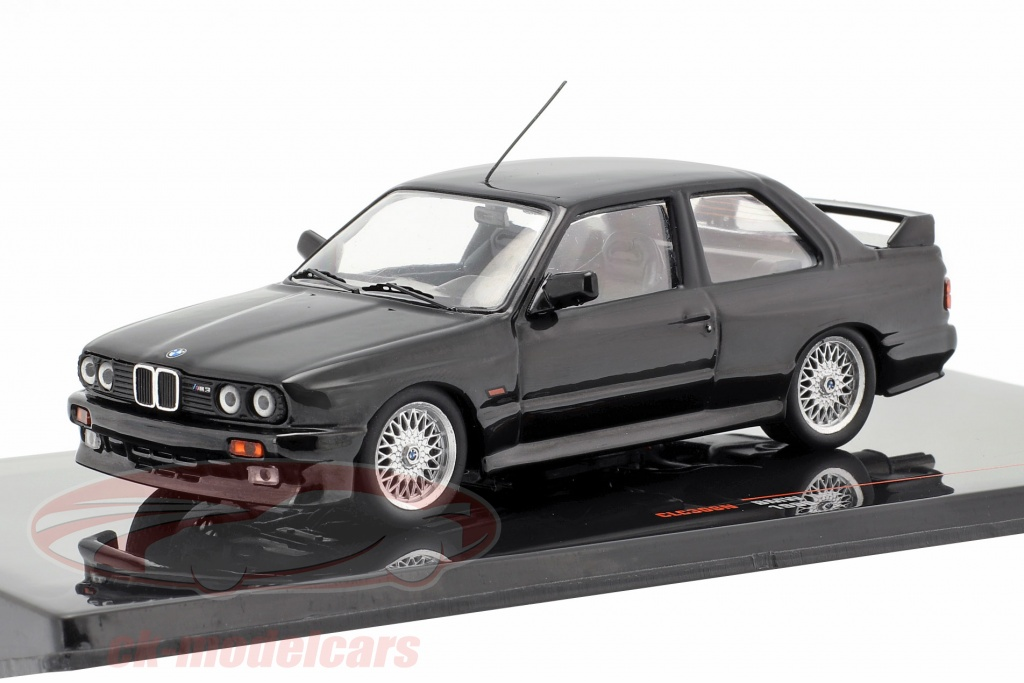 ixo-1-43-bmw-m3-e30-sport-evolution-year-1990-black-clc308n/