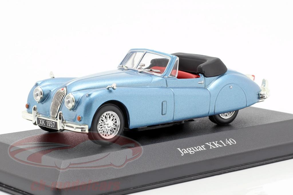 atlas-1-43-jaguar-xk140-roadster-bouwjaar-1957-lichtblauw-metalen-4641103/
