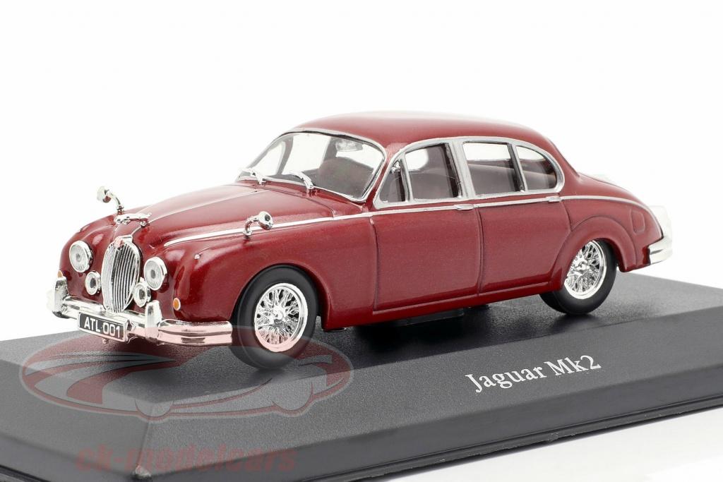 atlas-1-43-jaguar-mk-ii-year-1960-dark-red-4641101/