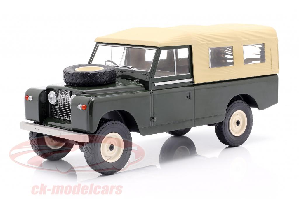 modelcar-group-1-18-land-rover-series-ii-109-year-1959-dark-green-beige-mcg18118/