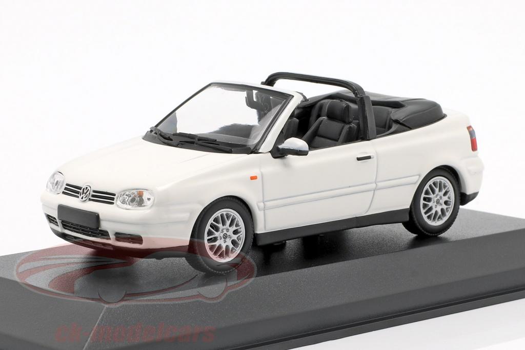 minichamps-1-43-volkswagen-vw-golf-iv-cabriolet-opfrselsr-1998-hvid-940058330/