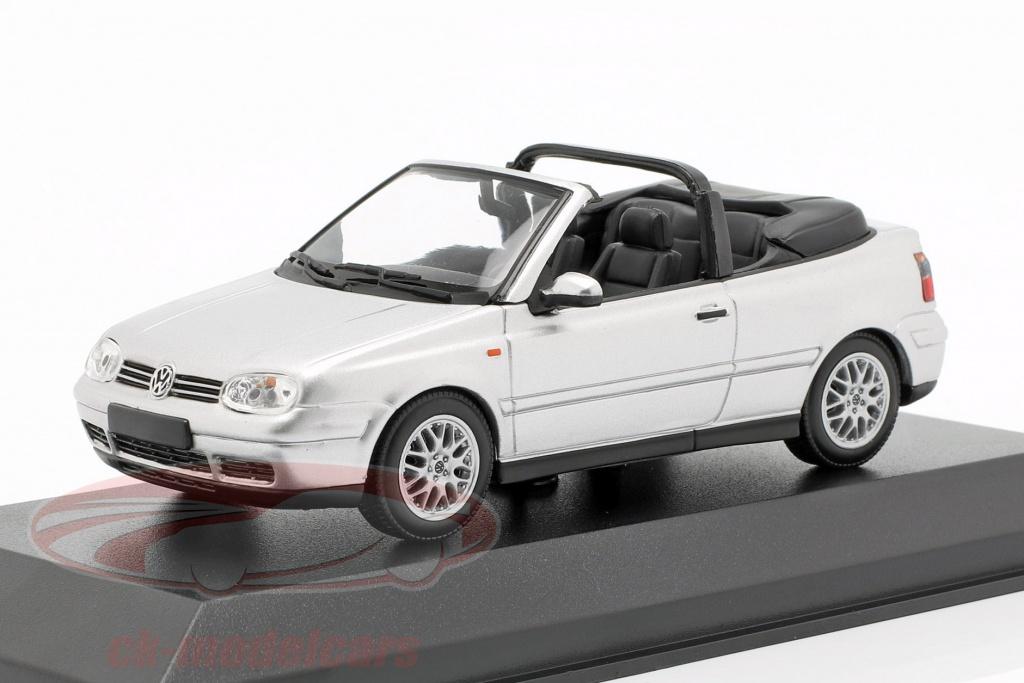 minichamps-1-43-volkswagen-vw-golf-iv-cabriolet-opfrselsr-1998-slv-940058331/