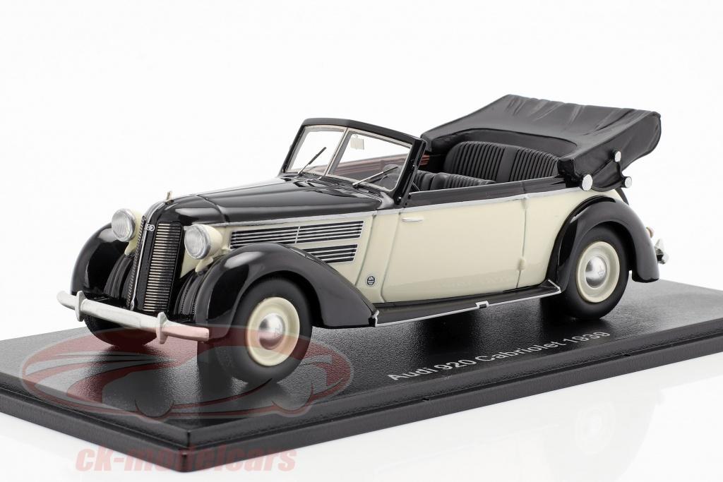neo-1-43-audi-920-cabriolet-glaeser-opfrselsr-1939-sort-hvid-neo47085/