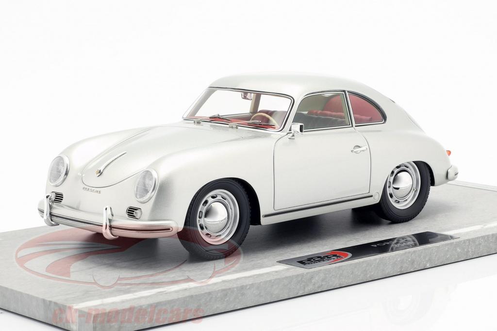 bbr-models-1-18-porsche-356a-ano-de-construccion-1955-plata-metalico-bbrc1820a/