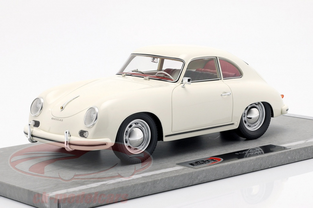 bbr-models-1-18-porsche-356a-opfrselsr-1955-hvid-bbrc1820d/