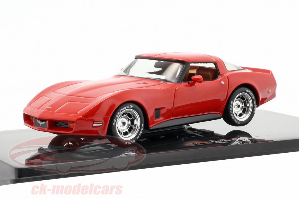 ixo-1-43-chevrolet-corvette-c3-ano-de-construcao-1980-vermelho-clc309n/