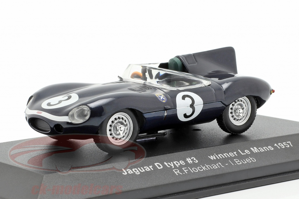 ixo-1-43-jaguar-d-type-no3-vencedor-24h-lemans-1957-flockhart-bueb-lm1957/