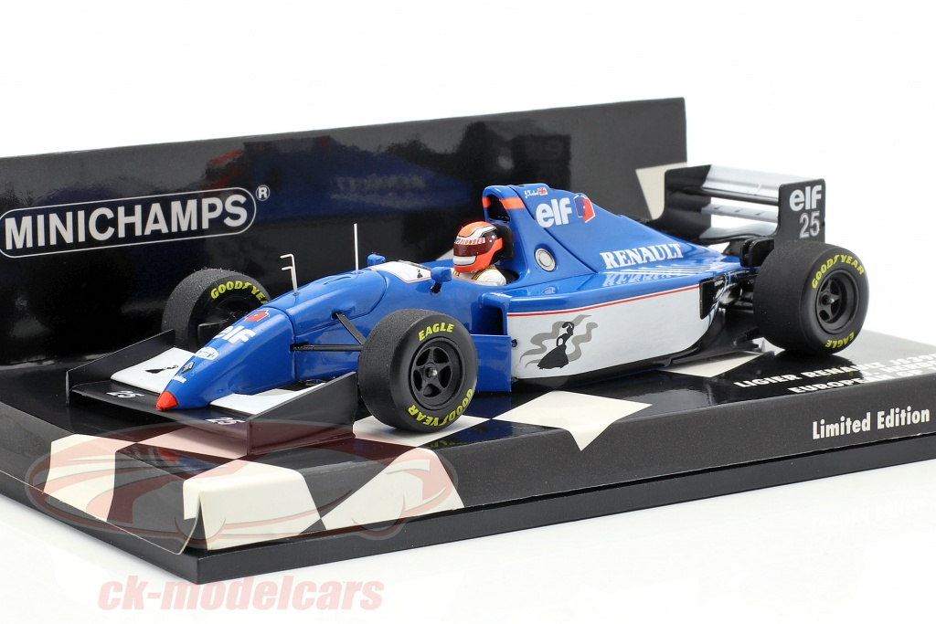 minichamps-1-43-johnny-herbert-ligier-renault-js39b-no25-europese-gp-1994-417940125/