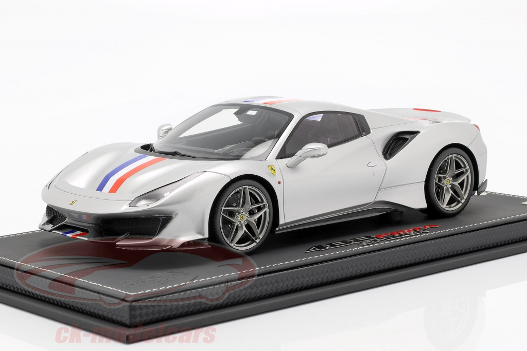 bbr-models-1-18-ferrari-488-pista-spider-closed-top-ano-de-construccion-2018-nuerburgring-plata-p18163d/