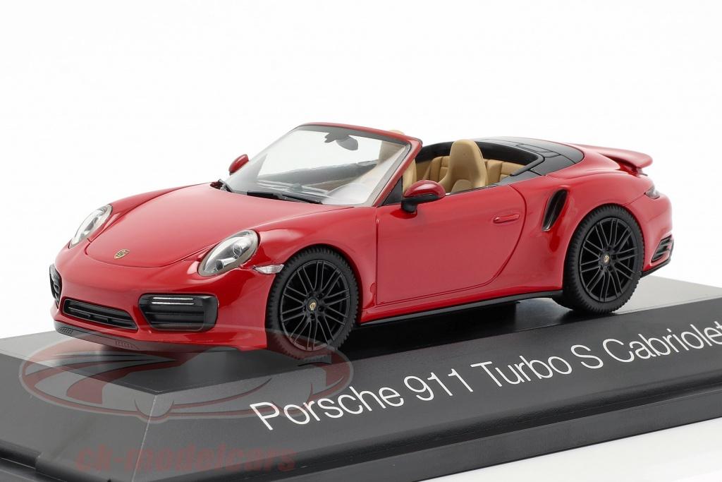 herpa-1-43-porsche-911-991-ii-turbo-s-cabriolet-year-2016-carmine-red-her071482/