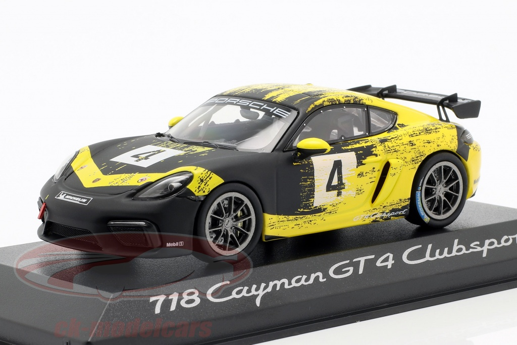minichamps-1-43-porsche-718-cayman-gt4-clubsport-2019-no4-yellow-black-wap0204150k/