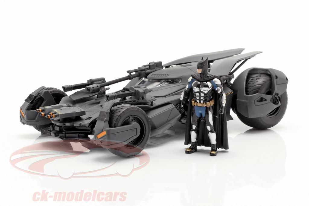 Jada Toys 99232 Batmobile y Batman personaje película Justice League 2017 1:24 nuevo embalaje original