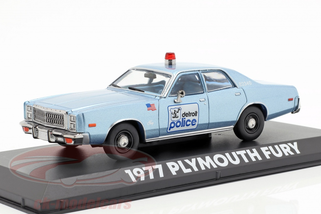 greenlight-1-43-plymouth-fury-detroit-police-1977-movie-beverly-hills-cop-1984-86565/