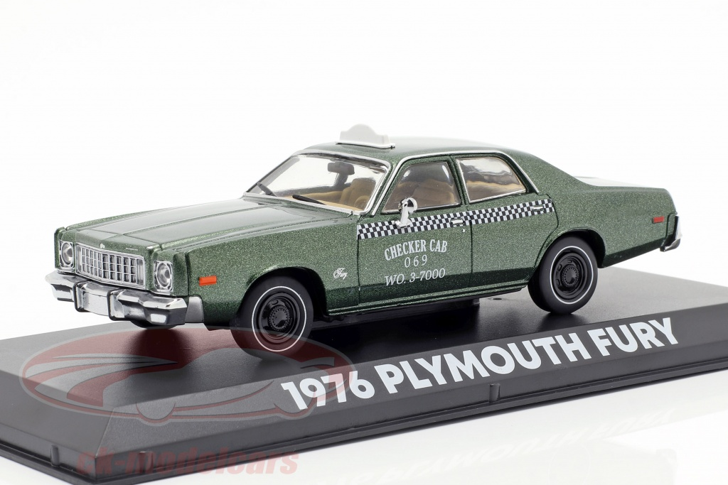 greenlight-1-43-plymouth-fury-checker-cab-1976-film-beverly-hills-cop-1984-86566/