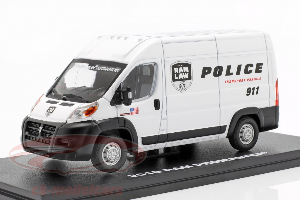 greenlight-1-43-ram-promaster-2500-cargo-busje-police-transport-2018-wit-86168/