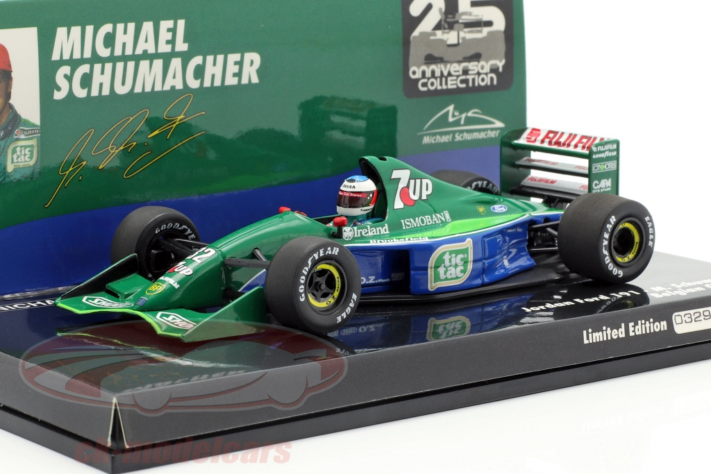 minichamps-1-43-m-schumacher-jordan-191-no32-f1-debut-belgian-gp-spa-1991-510914301/