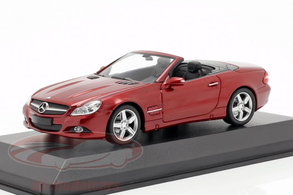 minichamps-1-43-mercedes-benz-classe-sl-r230-ano-de-construcao-2008-vermelho-metalico-940037530/