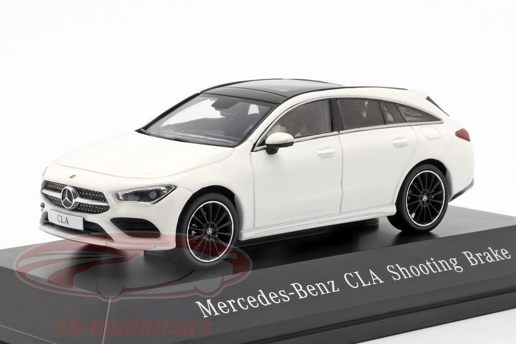 spark-1-43-mercedes-benz-cla-shooting-brake-x118-opfrselsr-2019-polar-hvid-b66960474/