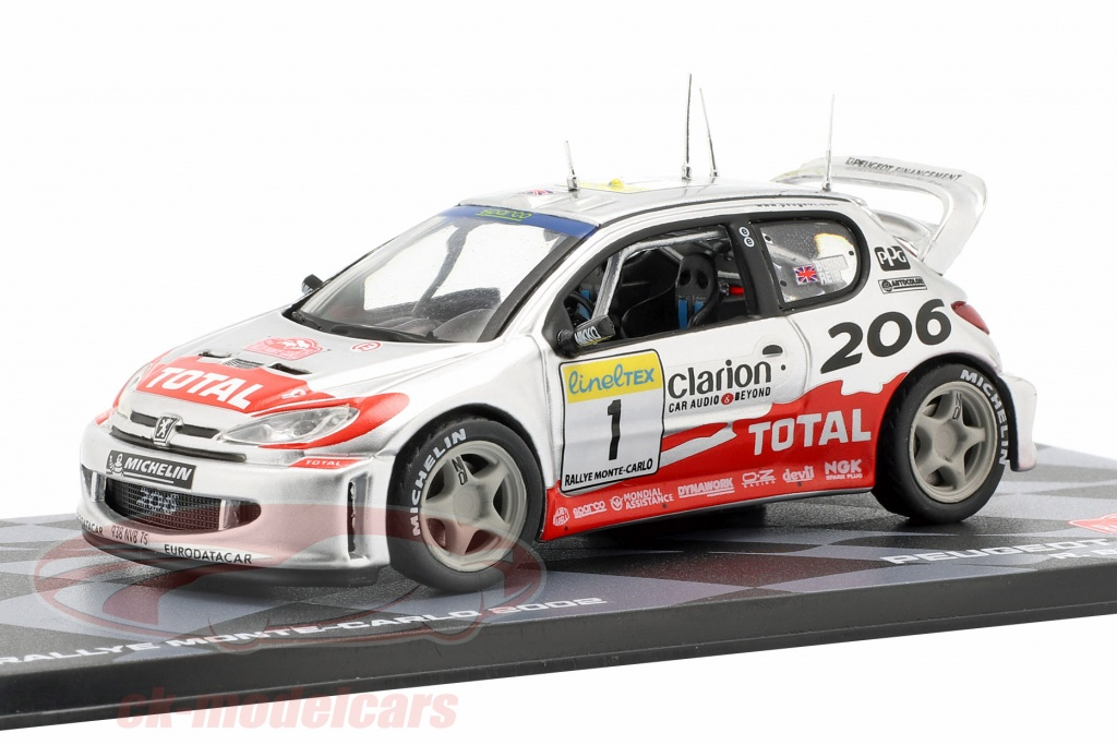 altaya-1-43-peugeot-206-wrc-no1-rallye-monte-carlo-2002-burns-reid-ck57451/