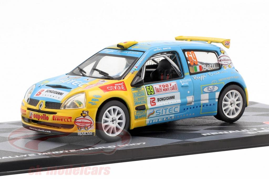 altaya-1-43-renault-clio-s1600-no69-rallye-monte-carlo-2007-betti-agnese-ck57453/