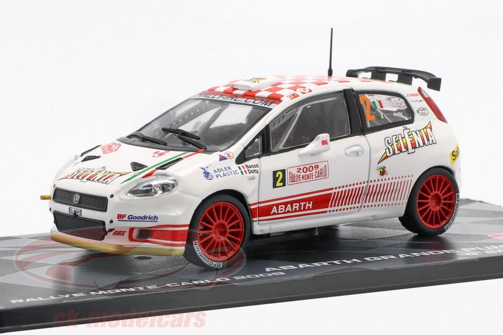 altaya-1-43-abarth-grande-punto-s2000-no2-quinto-rallye-monte-carlo-2009-basso-dotta-ck57456/