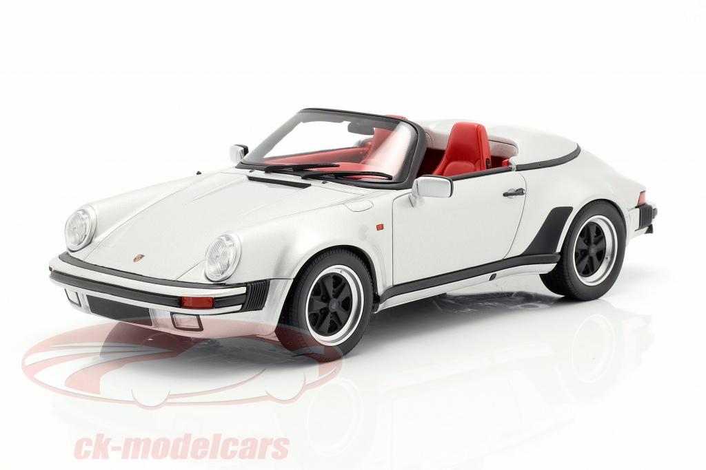 gt-spirit-1-18-porsche-911-carrera-32-speedster-bouwjaar-1987-zilver-gt768/