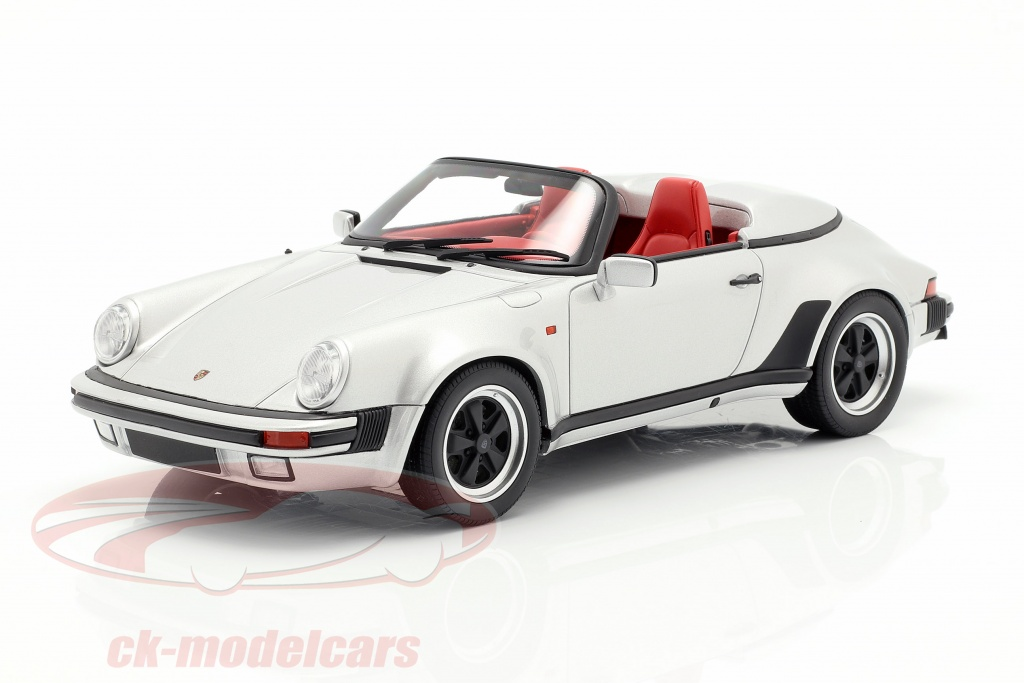 gt-spirit-1-18-porsche-911-carrera-32-speedster-year-1987-silver-gt768/