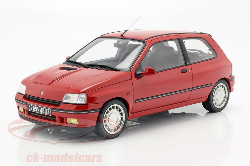 ottomobile-1-12-renault-clio-16s-ph1-bouwjaar-1995-rood-g045/