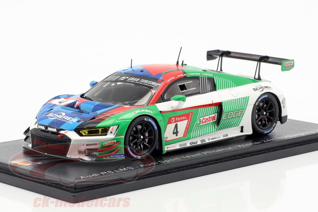 spark-1-43-audi-r8-lms-no4-gagnant-24h-nuerburgring-2019-kaffer-stippler-vervisch-vanthoor-sg520/