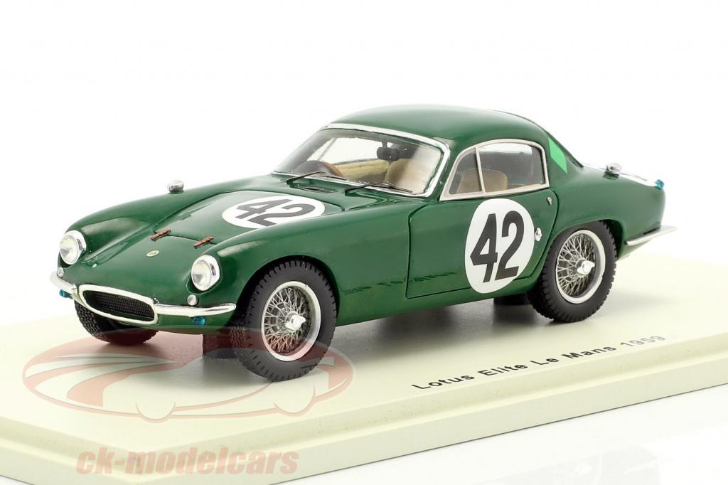 spark-1-43-lotus-elite-no42-24h-lemans-1959-whitmore-clark-s5076/