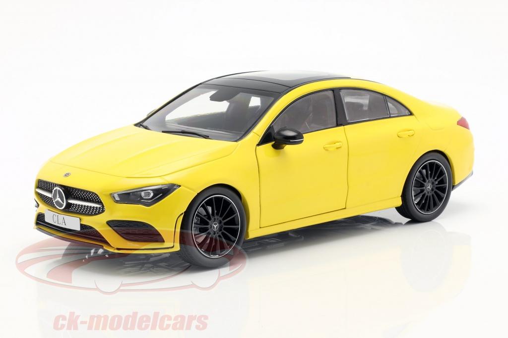z-models-1-18-mercedes-benz-cla-coupe-c118-ano-de-construcao-2019-sol-amarelo-b66960473/