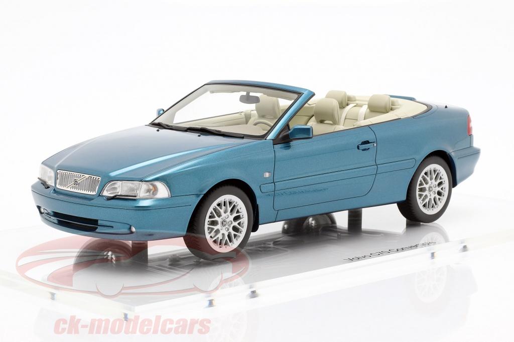 dna-collectibles-1-18-volvo-c70-cabriolet-opfrselsr-1999-turkis-metallisk-dna000022/