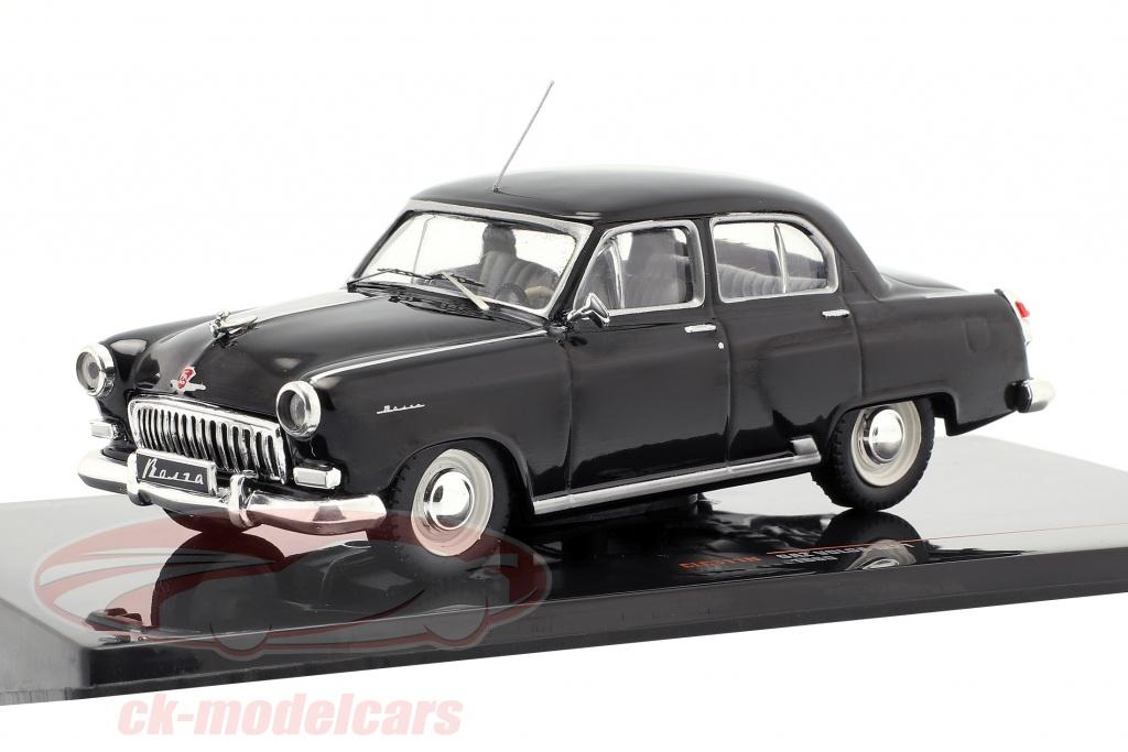 ixo-1-43-wolga-gaz-m21-year-1960-black-clc311n/