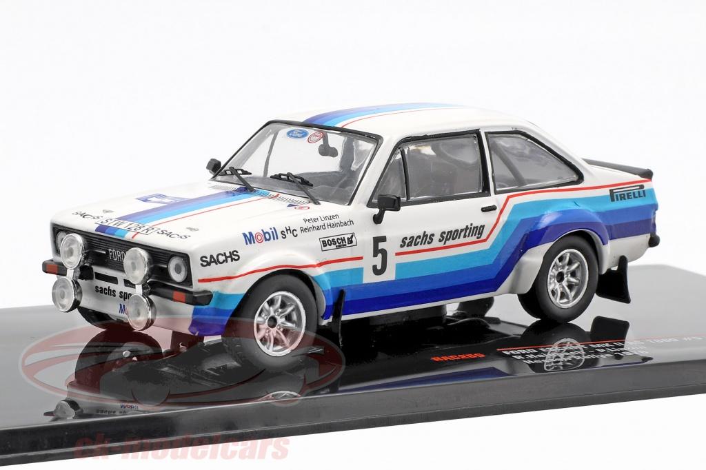 ixo-1-43-ford-escort-mk-ii-rs-1800-no5-winner-hessen-rallye-1978-hainbach-linzen-rac265/