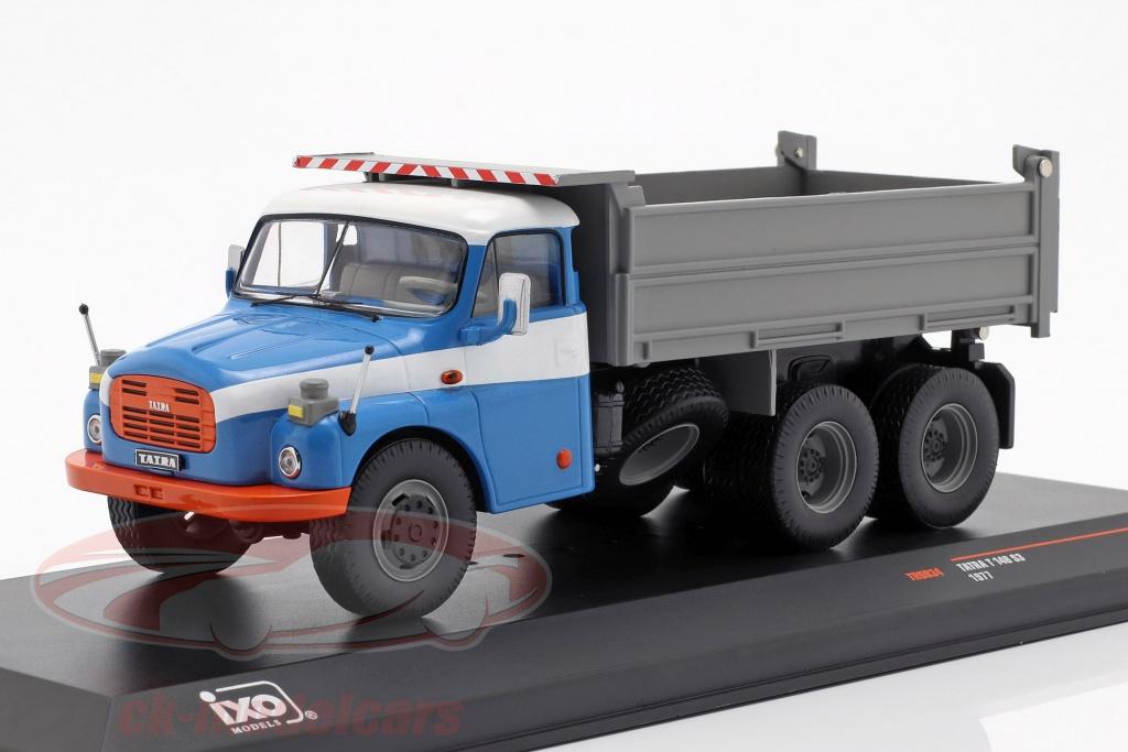 ixo-1-43-tatra-t-148-s3-camion-benne-annee-de-construction-1977-bleu-gris-tru034/