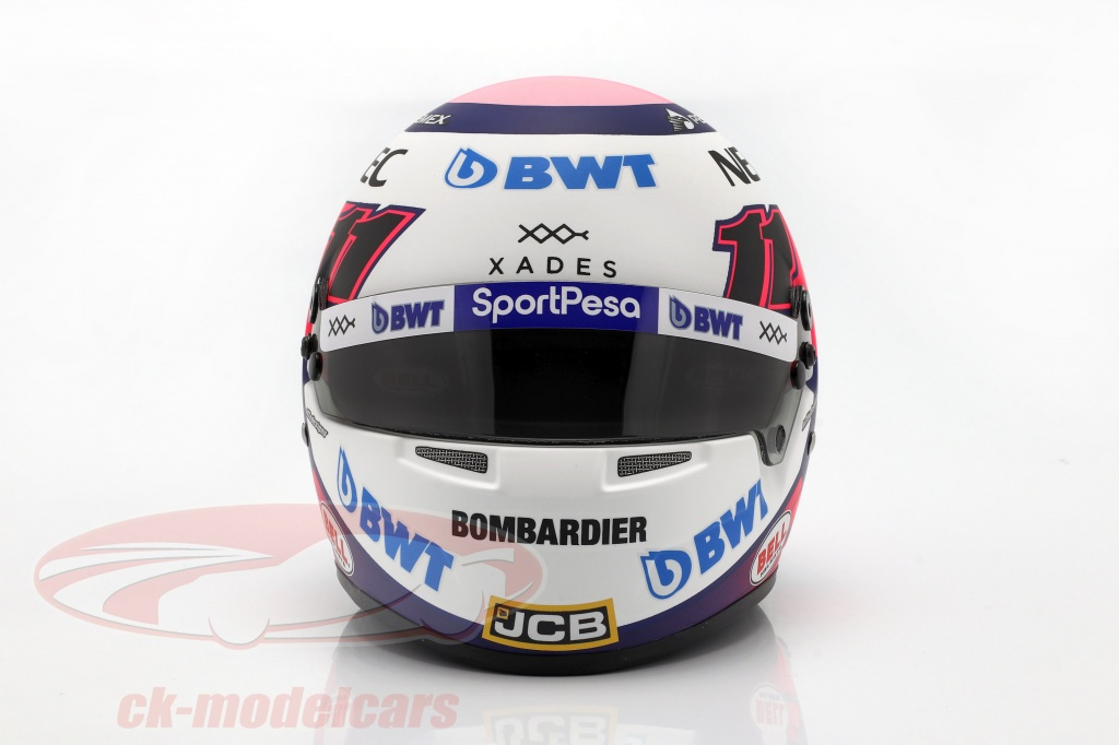 bell-1-2-sergio-perez-racing-point-rp18-no11-formula-1-2019-casco-4100015/