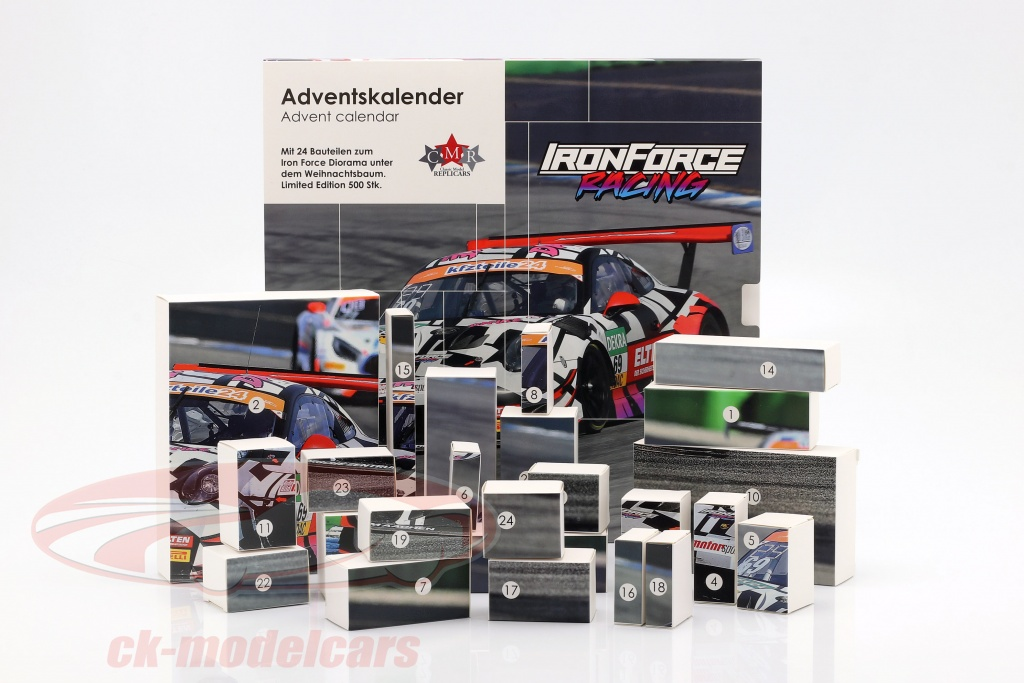 cmr-1-43-iron-force-advent-calendar-porsche-911-991-gt3-r-no69-iron-force-cmrgtadvent/