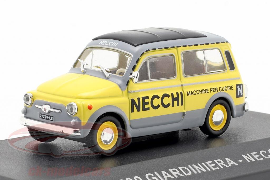 altaya-1-43-fiat-500-giardiniera-necchi-ano-de-construcao-1960-amarelo-cinza-ck57848/