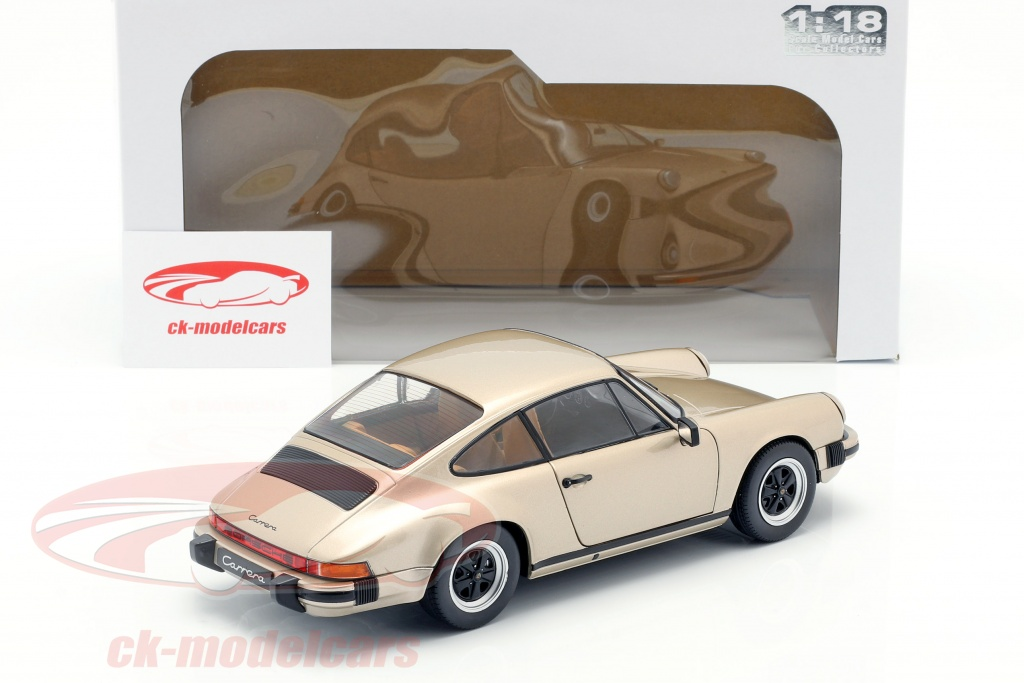 1//18 solido porsche 911 3,2 carrera bronze 1977 neuf boite d/'origine