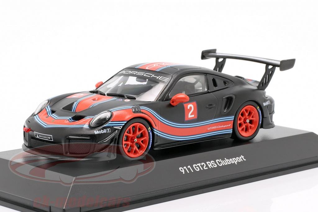 spark-1-43-porsche-911-991-ii-gt2-rs-clubsport-no2-noir-rouge-bleu-wap0201530l/
