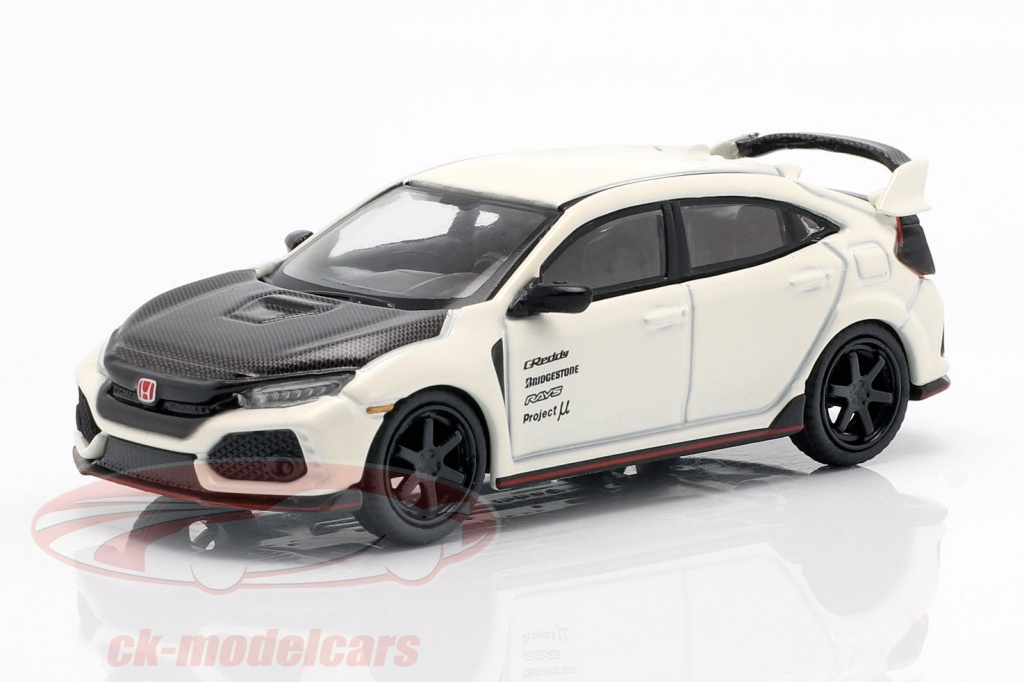 true-scale-1-64-honda-civic-type-r-fk8-lhd-championship-white-carboxylic-mgt00065-l/