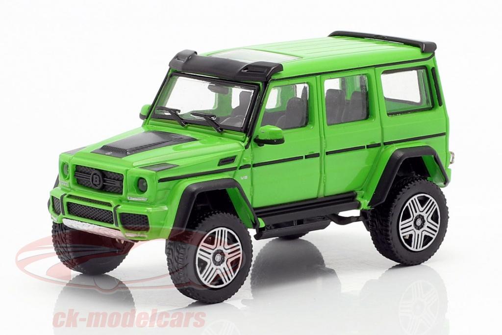 minichamps-1-87-brabus-4x4-basato-su-mercedes-benz-g500-4x4-anno-di-costruzione-2016-verde-870037202/